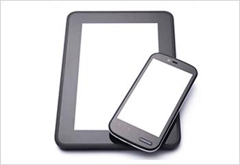 モバイル機器の画像