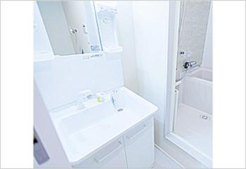 洗面化粧台の画像