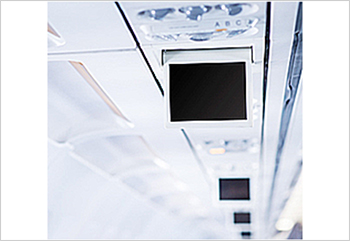 航空機用パーソナルモニターの画像