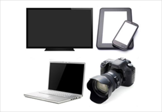 AV・デジタル・家庭用電気機器の画像